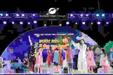 """Cư dân nhí tưng bừng 'Rước đèn lên trăng"""" trong đêm hội Trung thu của Sunshine Group"""