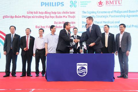 Philips và Trường Đại học Buôn Ma Thuột hợp tác xây dựng bệnh viện thông minh