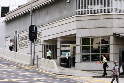 Trung Quốc yêu cầu Mỹ phải xin phép trước khi gặp quan chức Hong Kong