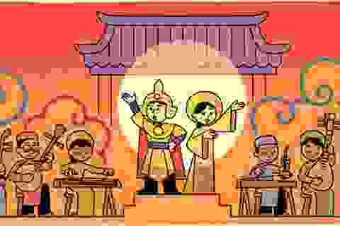 Google vinh danh nghệ thuật cải lương nhân ngày Sân khấu Việt Nam