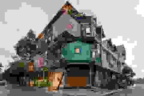 Căn nhà như những tổ chim nhiều màu sắc độc lạ ở Vũng Tàu