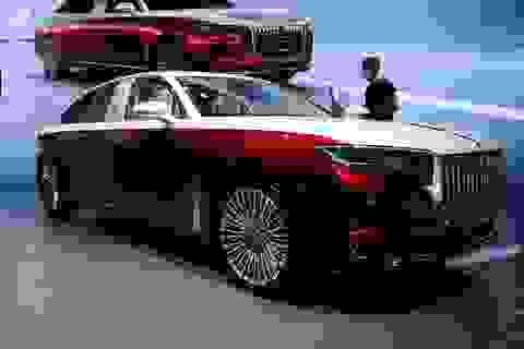 Cận cảnh mẫu Hongqi H9+ được mệnh danh là xe Maybach của Trung Quốc