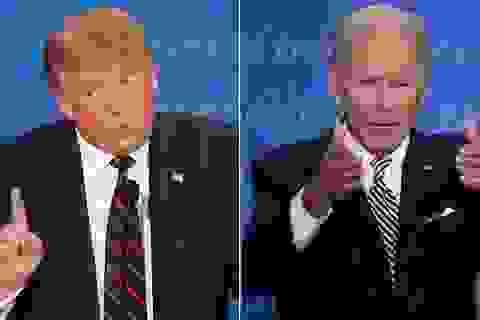 """Bên trong cuộc tranh luận """"hỗn loạn"""" khiến ông Trump ngắt lời Biden 73 lần"""