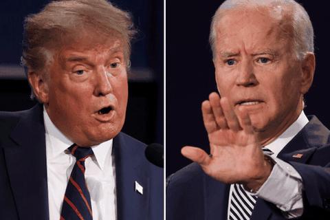 """Ông Trump nói """"thắng"""" Biden trong """"hiệp đấu"""" đầu tiên"""
