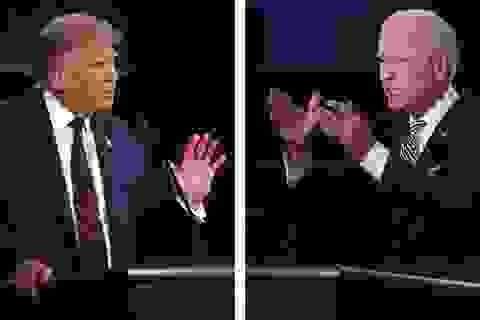 """Tranh luận tổng thống cuối cùng: Cơ hội để ông Trump """"lật ngược thế cờ"""""""