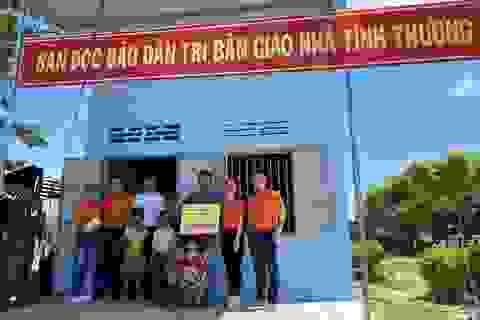 Bạn đọc xây nhà mới giúp gia đình người đàn ông đông con thoát nghèo
