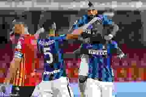 Lukaku tỏa sáng rực rỡ, Inter tiếp tục tạo nên cơn mưa bàn thắng