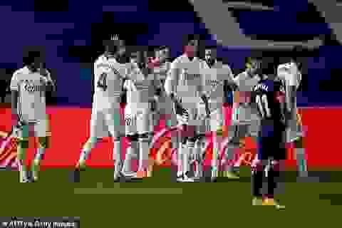 Real Madrid nhọc nhằn giành chiến thắng thứ 2 tại La Liga