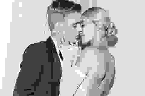 Justin Bieber và vợ chia sẻ ảnh cưới đẹp như mơ