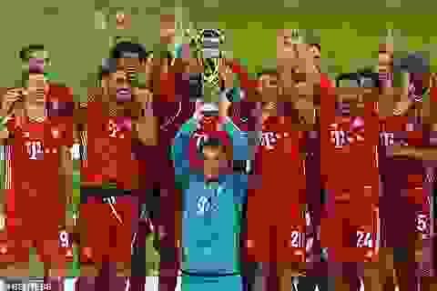 Thắng Dortmund đầy kịch tính, Bayern Munich giành Siêu Cúp Đức