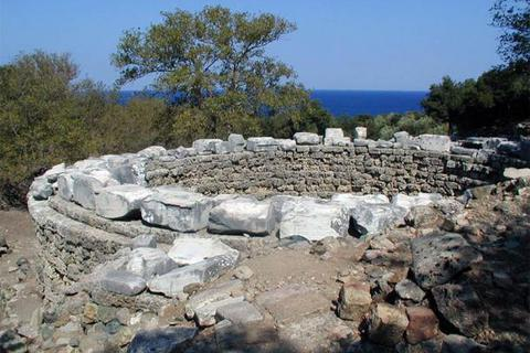 Thánh địa của những vị thần bí ẩn trên đảo Samothrace ở Hy Lạp