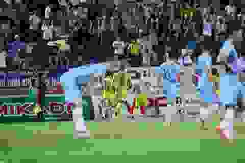 CLB Nam Định giành 3 điểm sân nhà, SHB Đà Nẵng phải đua trụ hạng