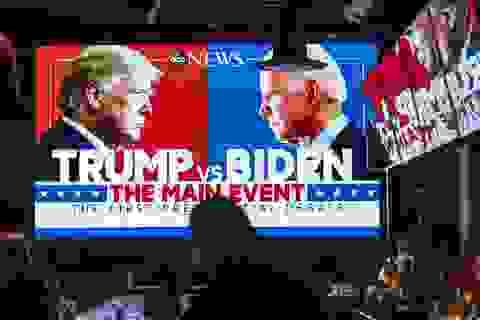 """Hơn 73 triệu người theo dõi màn """"đấu khẩu"""" Trump - Biden"""