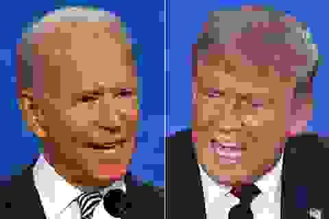 """Ông Biden gọi phần tranh luận của ông Trump là """"nỗi hổ thẹn quốc gia"""""""