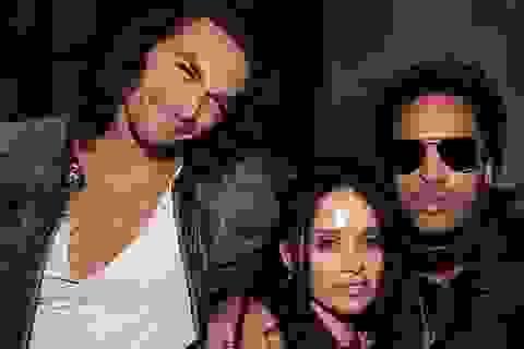 Lenny Kravitz vẫn thân thiết với vợ cũ và chồng mới của vợ