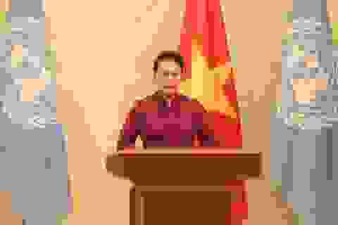 Chủ tịch Quốc hội gửi thông điệp về nữ quyền tới Liên Hợp Quốc