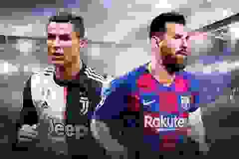 """Messi đối đầu với C.Ronaldo ở Champions League: Sống lại thời """"trai trẻ"""""""
