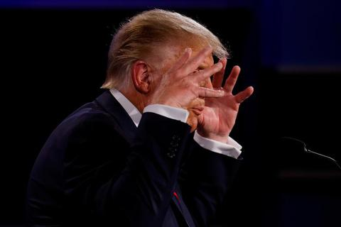Ông Trump có các triệu chứng trước khi mắc Covid-19