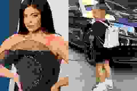 Tranh cãi chuyện Kylie Jenner mua ba lô gần 300 triệu đồng cho con nhỏ