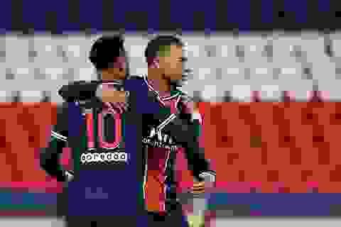 Neymar và Mbappe thăng hoa, PSG giành chiến thắng 6-1
