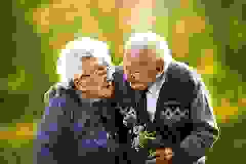 Bộ ảnh cưới đẹp lung linh của đôi vợ chồng đã có 72 năm bên nhau