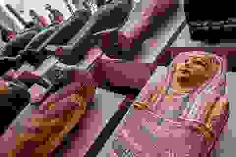 Ai Cập phát hiện hàng chục quan tài hơn 2.500 tuổi còn nguyên xác ướp