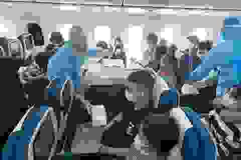 Đưa gần 340 công dân Việt Nam từ châu Âu và châu Phi về nước
