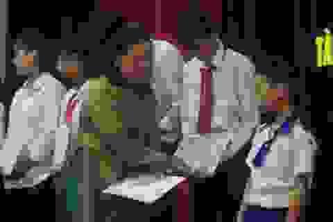 Trao hơn 150 suất học bổng cho học sinh, sinh viên nghèo hiếu học