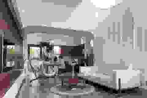 Nhà mang phong cách Thụy Điển ngập ánh sáng và cây xanh của vợ chồng trẻ