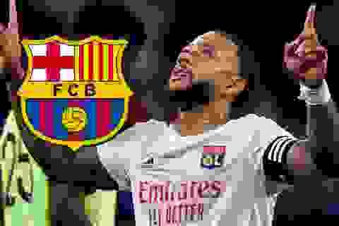 Depay gia nhập Barcelona ở ngày cuối chuyển nhượng