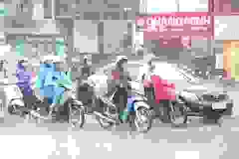 Ảnh hưởng không khí lạnh, Hà Nội có lúc mưa rào và giông