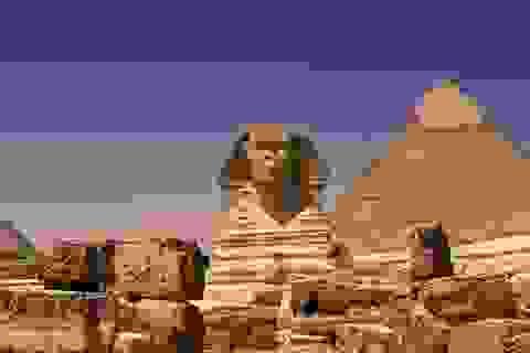 Bí ẩn kho báu trong đường hầm bí mật dưới tượng nhân sư Ai Cập