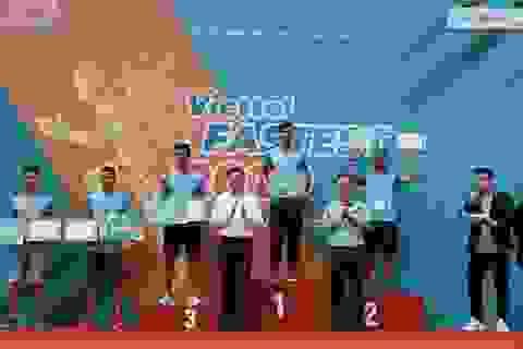 Người chạy 10km quanh hồ Hoàn Kiếm nhanh nhất chỉ hết 31 phút 59 giây
