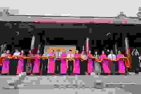 Khánh thành công trình đèn Led, bảng chỉ dẫn quê hương Chủ tịch Hồ Chí Minh