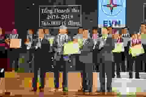 Tập đoàn Điện lực Việt Nam được vinh danh về nộp thuế