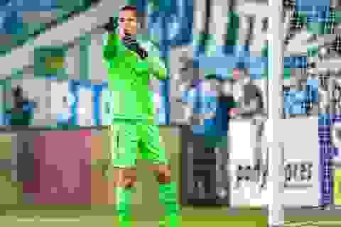 Filip Nguyễn không ra sân trong trận thắng của CH Czech