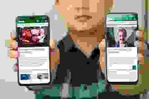 """Bộ đôi smartphone tầm trung Oppo A93 và Vsmart Aris """"đọ dáng"""""""