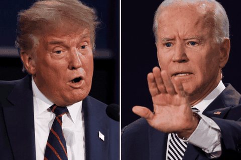 """Cuộc đua """"khốc liệt"""" Trump - Biden tại các bang chiến trường"""