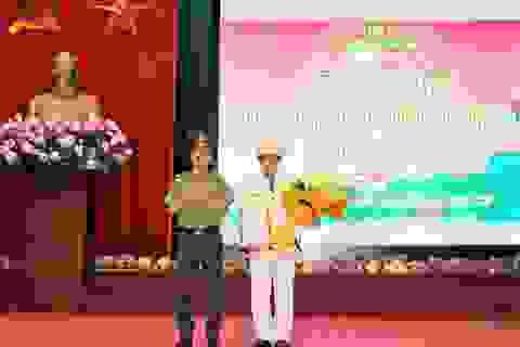 Trưởng Công an TP Hòa Bình làm Phó Giám đốc Công an tỉnh