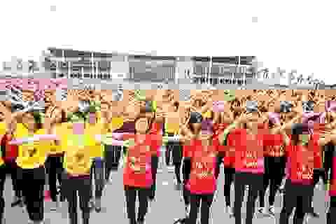 """Bạn trẻ Thủ đô sẽ xếp hình chữ """"1010 năm Thăng Long - Hà Nội"""""""