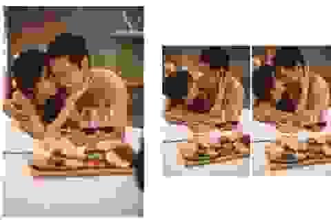 Ảnh cưới bán nude của Thảo Trang với ông xã kém 9 tuổi