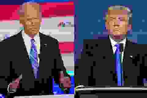 Ông Biden nói sẽ không tranh luận lần 2 nếu ông Trump còn mắc Covid-19