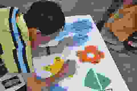 """Thể lệ cuộc thi vẽ tranh """"Ước mơ vượt khó"""" về trẻ em khuyết tật"""