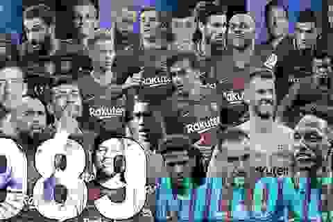 Barcelona thất bại chuyển nhượng: Ăn mặn, rồi khát nước...