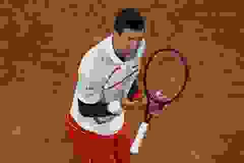"""Roland Garros 2020: """"Đòi nợ"""" Carreno-Busta, Djokovic lần thứ 10 vào bán kết"""