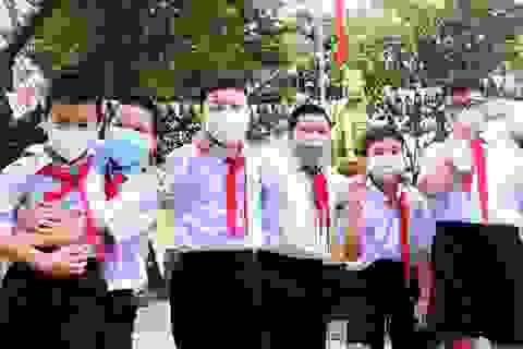 Mưa to, học sinh Đà Nẵng nghỉ học từ trưa nay 8/10
