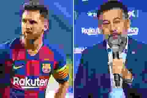 Bị Barcelona ép giảm lương, Messi sẽ ra đi tự do?