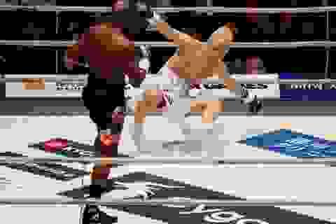 Ba lần đấm võ sĩ Nhật Bản ngã dúi dụi, Mayweather vẫn tự nhận thất bại