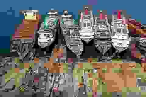 """Ngành công nghiệp phá dỡ du thuyền """"hái ra tiền"""" thời Covid-19"""