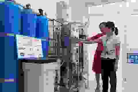 Australia tài trợ lắp đặt hệ thống lọc nước ô nhiễm ở đồng bằng sông Hồng